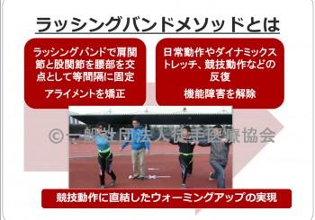 2016/01/24 Sun. クローズドセミナースペシャル「ラッシングバンドメソッドの実際」